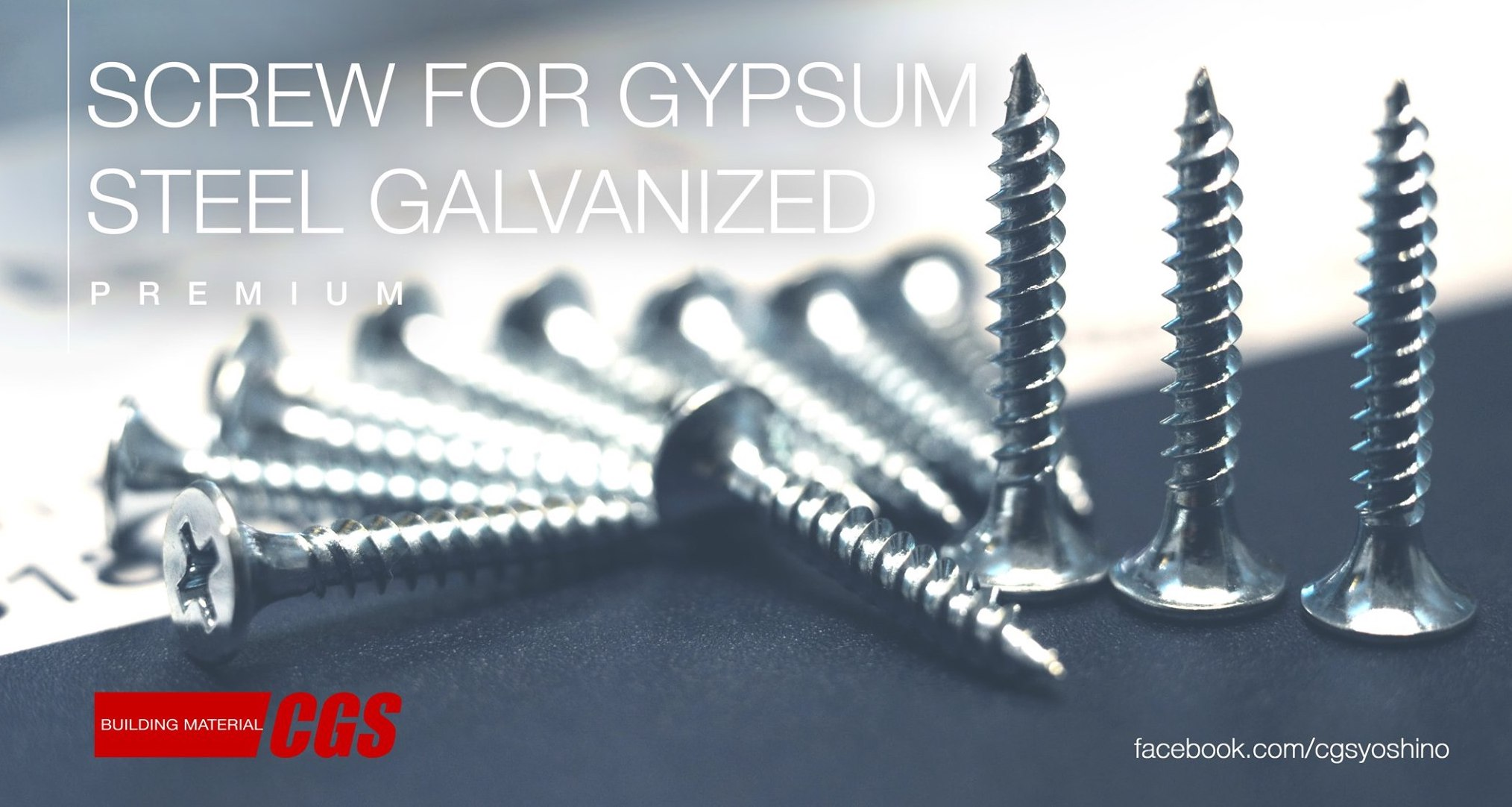 Use galvanized steel frame, why not use galvanized steel screw